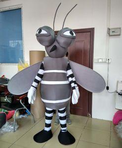 Frete grátis 100% real photo brand new Mosquitoes traje da mascote terno para adultos para usar para venda