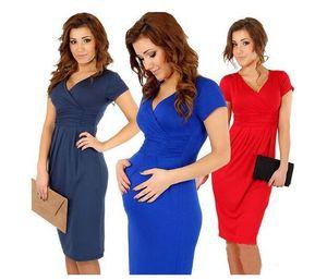 2017 горячие продажи беременных женщин эластичное платье, с короткими рукавами женщин платье