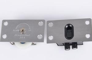 338 الفولاذ المقاوم للصدأ النحاس الأساسية خزانة الباب بكرة عجلة انزلاق الباب