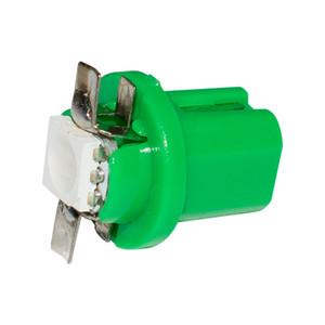 10pcs 고품질 T5 B8.5D 8.5D B8.5 1 개의 LED 5050 SMD 차 대쉬 보드 온난화 지시자 쐐기 전구 자동 램프 계기판 조명 DC12V