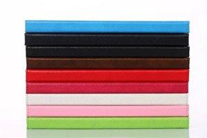 화웨이 MediaPad의 T3 (10) AGS-L09 AGS-L03 9.6 인치 명예 플레이 패드 2 태블릿 지갑 손 홀더 그립 쉘 카드 슬롯의 100PCS를위한 PU 케이스 커버