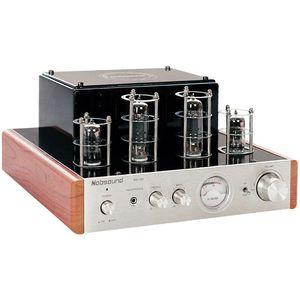 Freeshipping nobsound MS-10D مركبتي 2.0 أنبوب مكبر للصوت المنزل الصوت مكبرات الصوت مكبر للصوت 220 فولت النسخة 25 واط * 2