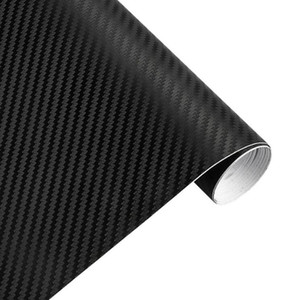 30 cm x 127 cm 3D Fibra de Carbono de Vinilo Del Coche Hoja de Rollo de Película Pegatinas de coches y Calcomanías Motocicleta Car Styling Accesorios Automóviles