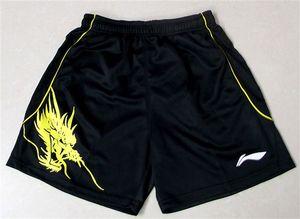 Bádminton caliente / tenis de mesa / tenis pantalones cortos, hombres / mujeres pantalones cortos de correr de fitness seco transpirable poliéster envío gratis