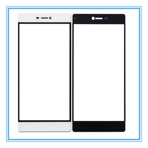 Ön Dış Cam Lens Için Huawei P9 Artı P9 P9 Lite P8 P6 LCD Dokunmatik Ekran Paneli Cam Yedek Parçalar Ücretsiz Kargo