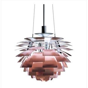 Diâmetro 38/48 cm moderno alcachofra pho luminária lustre de teto luminárias frete grátis