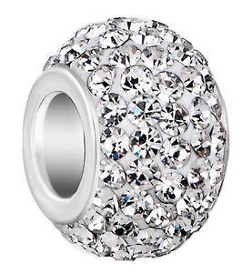 50 pçs / lote 10mm * 12mm Branco misturado cor s64323 Banhado A Prata resina Núcleo Big Hole Cristal Grânulos Europeus, Solta Beads Pulseiras Achados.