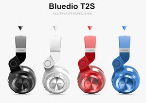 Bluedio T2S Casque Bluetooth d'origine Microphone Casque stéréo sans fil Bluetooth 4.1 pour Iphone Samsung Xiaomi HTC