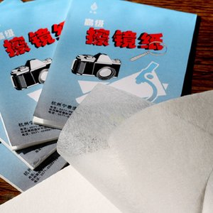 lens wiping paper strong detergency physical cleaning for SLR cameras projectors monitors telescopes microscopes and other glasses and lens