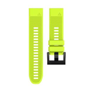 Garmin Fenix 5X Bands ، تثبيت سريع 26 مم الفرقة سيليكون استبدال الملحقات الأشرطة ل Garmin Fenix 5X / Fenix 3 / Fenix 3 HR GPS Smart Watch