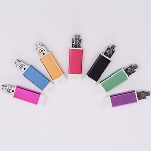 Die reale Kapazität Smartphone USB-Stick 8GB 16GB 32GB 64GB USB-Stick USB 2.0 OTG-Flash-Laufwerk Geschenk Tablet PC externe Speicher-Stick