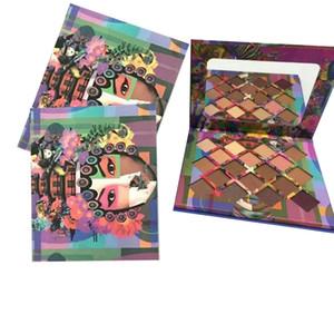 Sıcak makyaj Göz Farı Chris Chang 18 renkler göz farı paleti 2 türleri seçin göz farı üst qaulity DHL kargo