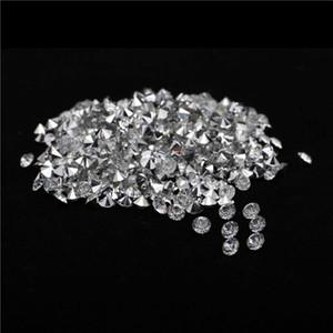 7200 pçs / saco 4mm de prata banhado a base de cristal strass strass pointback strass para diy festa de casamento decoração suprimentos