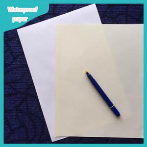 pasar la prueba de la pluma falsificada no srarch ningún papel de impresión ácido impermeable con rojo y azul color blanco fber
