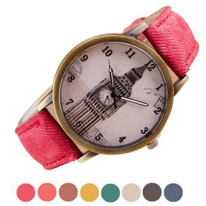 새로 디자인 빅 벤 시계 레트로 카우보이 석영 손목 시계 패션 Sep7 relojes hombre marca famosa