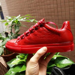 Wholesale-2017 새로운 뜨거운 판매 이름 브랜드 패션 섹시한 최고 품질 남자 플랫 디자이너 남자 신발 레이스 신발 망 캐주얼 신발