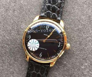 Homens de luxo Mens automático ETA CAL.39 Gold Watch Homens Originais Senator Retro Senator Sixties Alemanha Relógios GF Fábrica Relógios de Relógios