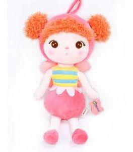 Plush Toys Animals Cute Backpack Pendant Baby Kids Toys for Girls Birthday Christmas Keppel Doll Panda Metoo Doll
