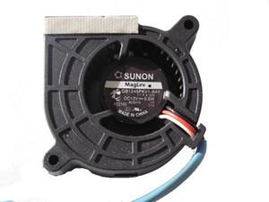 Nueva Original SUNON 4 cm GB1245PKV1-8 GB1245PKV1-8AY 12V 0.5W 3Wire ventilador del proyector