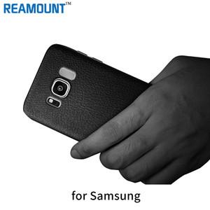 100 pcs nouvelle arrivée cas de téléphone ultra mince couverture en cuir TPU pour Samsung s8 Plus Business Style cas de téléphone portable