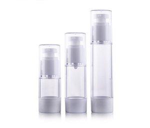 Freies Verschiffen - 30ml 50ml Airless Flasche, Kosmetik-Paket, Emulsionsflaschen, Kosmetikbehälter, Pumpenflasche Parfümflasche