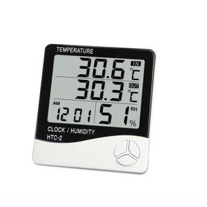 Thermomètre numérique hygromètre intérieur Température extérieure électronique hygromètre haute précision Station météo réveil