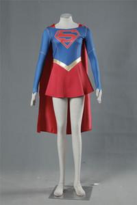 Supergirl cosplay trajes de Halloween
