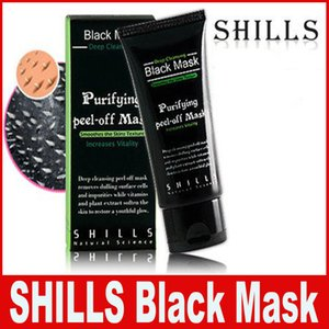 SHILLS Deep Cleansing Black MASK 50ML Blackhead Facial Mask Shills Deep Cleansing Black MASK Matte DIY