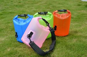 Sac 5L durable à sec Gros extérieur Sac étanche pliant portable sac seau Dérive Bateau à rames Livraison gratuite