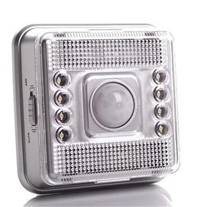8 LED lampe capteur PIR Auto Motion lampe LED mur lumière nuit haute sensibilité lumineuse Couloir Lumière du Cabinet
