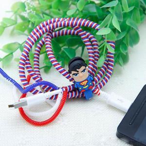Ressort en plastique Douille protectrice Tablette mobile Transparent Protecteur de cordon en spirale pour chargeur de téléphone Cordons écouteurs
