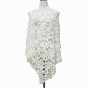 7 Farben 2017 Frühling Mädchen Kleid Luxus Weiß Crochet Poncho Frauen Mode Schal Schal Poncho wraps zubehör