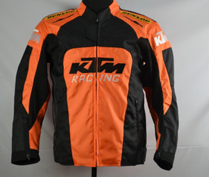 New KTM motorcycle back support Racing jacket oxford clothes motorbike jacket big size with protective gear size M to XXXL