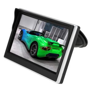 5 Zoll Auto TFT LCD Monitor 800 * 480 Bildschirm 2-wege-video-eingang Für Rückansicht Backup Rückfahrkamera DVD VCD CMO_30A