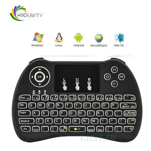 H9 2.4GHz Wireless Mouse Gaming Keyboards Colorful Backlit Remote Control for S905X S912 Android TV Box A95X X96 Q BOX