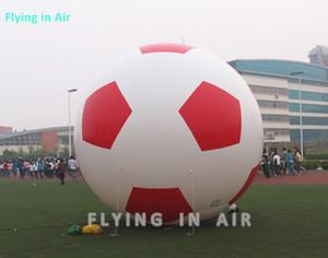 Futebol inflável preto VERMELHO do campo de futebol do estádio de 2m / 3m / 5m