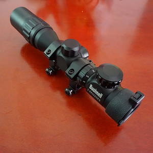 Tactical Reflex Riflescope 2-6x32 AOE RedGreen dot mirino regolabile con caccia Rail Mount 20mm / 11mm lente del tubo parasole