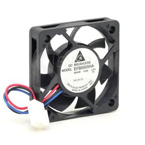 Comercio al por mayor DELTA EFB0505HA 5010 50mm 5 cm DC 3.3 V 0.25A velocidad servidor inversor ventilador de refrigeración axial