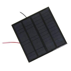 BUHESH 3 W 12 V Epoksi Güneş Paneli Fotovoltaik Polikristal Güneş Pili Mini Güneş Enerjisi Enerji Modülü DIY Güneş Sistemi 145 * 145 MM