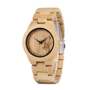 BOBO BIRD Bamboo Wood Watches Women Fashion Watch Custom Drop Shipping Japan Quartz Clocks in Gift Box