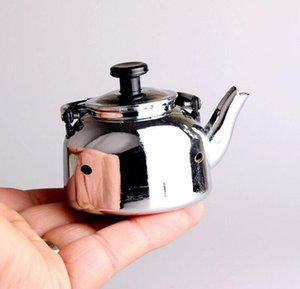 kreatives Metall Teekanne Feuerzeug Tee-Set Haushaltsgeräte Butan winddicht Zigarette Rauchen Nicht Gasanzünder