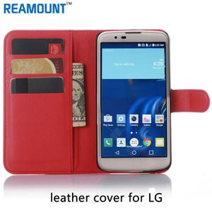 الأزياء فليب تغطية الحالات محفظة TPU + PU حالات غطاء مصنوع من الجلد لشركة إل جي L70 L80 L90 مع فتحة بطاقة حالة تغطية