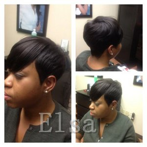 Full Lace Front Lace Rihanna Chic Pixie Cut Short human hair Wigs Hairstyle Cheap Brazilian Virgin Human Hair Wigs for Black Women