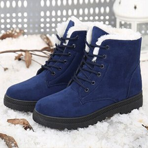 Snow boots winter ankle boots women shoes plus size shoes fashion heels winter boots fashion shoes free shipping