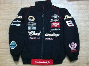 Budweiser Ceket A05 için Nakış F1 FIA NASCAR IndyCar V8 Supercar MOTO GP yarış Pamuk Ceket Motosiklet Rider Ceket