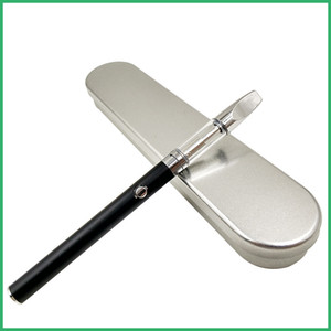CE3 vaporizer starter Metal Case kit 510 O pen Vape BUD touch button Battery 280mah Preheat Vape pen Glass tube Cartridge Metal tip Atomizer
