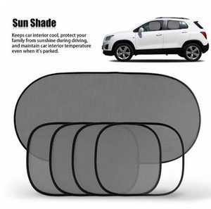 1set Hot Sale Black Car Window Suden Shade Overcomple Window Sunshade UV Protect Car Window Film 5 piece / set
