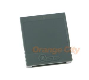 Memória SD Cartão SD WISD Flash Adaptador Conversor Adaptador Leitor de Cartão para Wii NGC GameCube Game Console