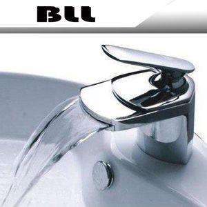 BLL 현대 크롬 욕실 분지 황동 수도꼭지 싱글 핸들 싱크 믹서 탭 덱은 NY02727을 탑재