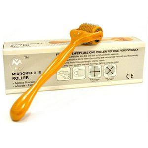 192 aiguilles derma rouleau MT dermaroller Microneedle rouleau traitement de la peau rouleau Meso pour l'acné Scar 0.2-3.0mm